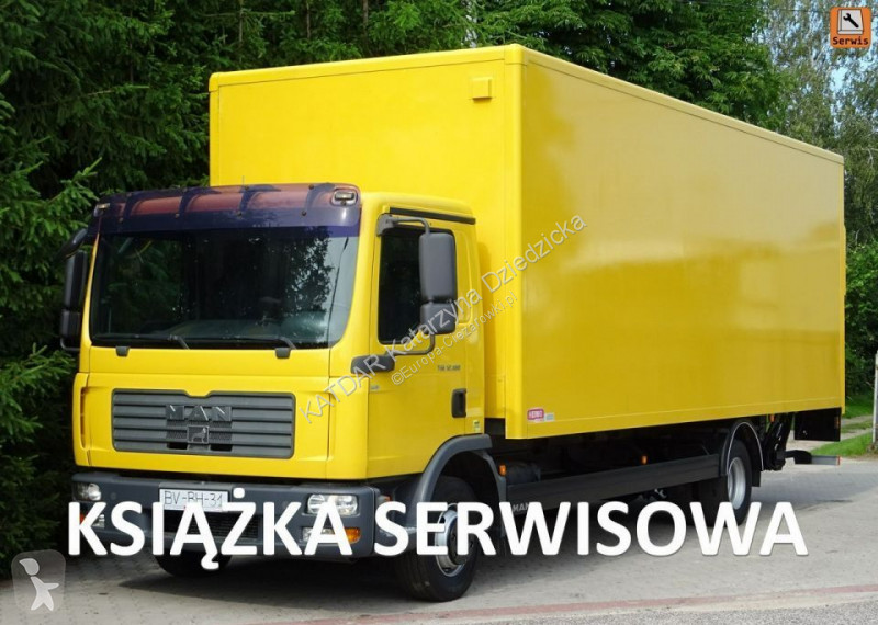 Voir les photos Camion MAN TGL 12.180 EURO 5,18 palet, IZOTERMA poduszki winda klapa
