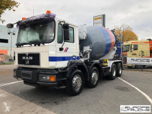 MAN concrete mixer truck 32.343 Full Steel - 9m3 - Good tires - Manual