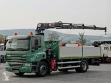 camion DAF CF 75.310 / 4X2 / CRANE HIAB 144 / RADIO CONTROL