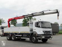 Camión Mercedes AXOR 2633 / 6x4 /CRANE FASSI F150/ REMOTE caja abierta usado