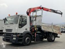 kamion Iveco TRAKKER 270/4X2/3 SIDED TIPPER+CRANE FASSI F130/