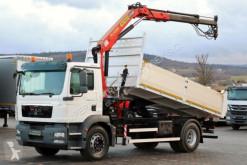 camion MAN TGM 18.330/ 4X2 / TIPPER+CRANE PALFINGER PK12000