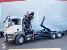 Camion benă second-hand MAN TGA 26.440 6x4H-2 BL 26.440 6x4H-2 BL, HydroDrive, Kran Epsilon E120Z79, Liftachse
