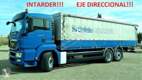 MAN TGS 26.320 truck used tautliner
