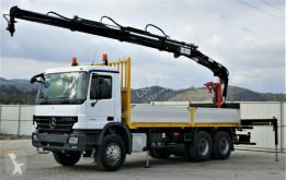 camion Mercedes Actros 2632 Pritsche 6,30m+ Kran/FUNK*6x4*