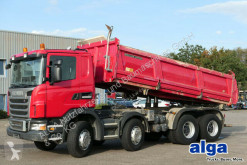 Scania G 440 CB 8x4, Bordmatik, Meiller, Klima,Schalter truck used three-way side tipper