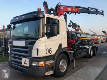 Scania P 320 truck used hook arm system