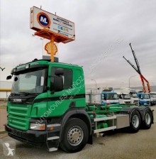 Scania P 400 truck used hook arm system