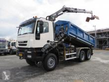 Iveco 380 T 41 Kipper / Kraan EEV truck used two-way side tipper