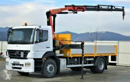 camion Mercedes Axor 1829 Pritsche 5,10m + Kran/FUNK*Topzustand