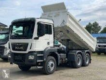 MAN three-way side tipper truck TGS