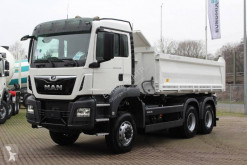 MAN 33.420 truck used three-way side tipper