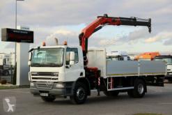 Camion plateau DAF CF 75.310 / 4X2 / CRANE PALFINGER 15500 / RADIO