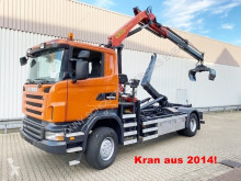 Camion Scania R340 CA 4x4 R340 CA 4x4 mit Kran Palfinger PK13002/ Bj.2014 benne occasion