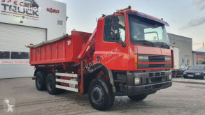 camion DAF 85 CF 360 Tipper 6X6 Full Steel, big axles , Crane 13m