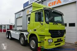 vrachtwagen Mercedes Actros 3246 8x4 Multilift Knick-Schub Haken 25 t