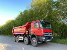 Mercedes Actros 4144 truck used half-pipe tipper