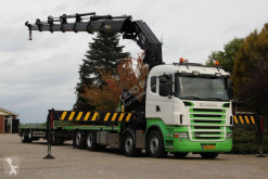 Scania R 420 trailer truck used flatbed
