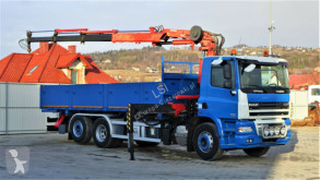 Ciężarówka DAF CF 85.410*Pritsche 6,00m+KRAN *6x2*Topzustand! platforma używana