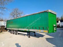 Camion Krone SEMIRIMORCHIO, CENTINATO SPONDE, 3 assi Teloni scorrevoli (centinato) usato
