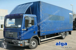 Used tarp truck MAN 12.240 TGL/7,25 m. lang/AHK/240 PS!