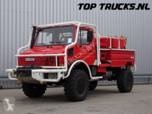 vrachtwagen Unimog MB U1550 L37 (2150) - Fire Truck - Lier, Winch, Winde - 2.500 ltr Watertank - Pomp - Dingo Achsen!