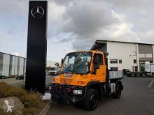 Camión Mercedes UNIMOG U300 4x4 Hydraulik Standheizung Klima furgón usado