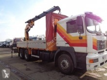 Camion plateau standard occasion MAN FE 410