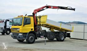 Camion benne DAF CF 75.310 * Kipper 5,20 m + KRAN