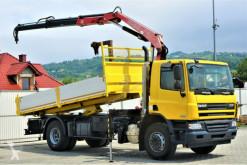 camion DAF CF 75.310 *Kipper 5,20 + Kran*Topzustand!