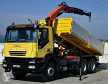 camion Iveco Trakker 310 Kipper 5,00m + Kran *6x4*Topzustand!