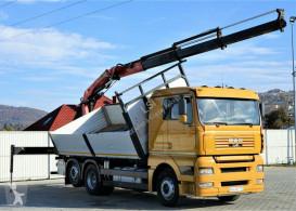Camion benne MAN TGA 26.460 Kipper 5,60 m + Kran*6x2!