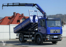 Camion MAN TGM 18.240 Kipper 4,30 m+KRAN/FUNK benne occasion
