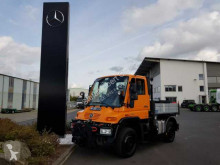 Camion Unimog Mercedes-Benz U300 4x4 Hydraulik Standheizung fourgon occasion