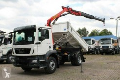 MAN TGM 18.320 truck used three-way side tipper