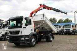 Camión volquete trilateral MAN TGM 18.320