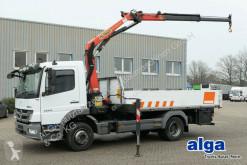 camion Mercedes 1224 Atego, 4.500mm lang, Kran PK8501, Euro 5