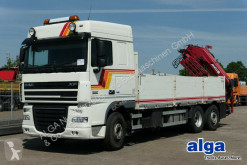 camion DAF XF 105.410, MKG 231 Kran aus 2014,zusammenlegbar
