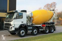 Camion béton toupie / Malaxeur Volvo FMX 430 8x4 / EuromiMTP EM 9m³ Vermietung