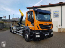 camion Iveco AD260X42Y/PS 6x2 Abrollkipper Palfinger T20