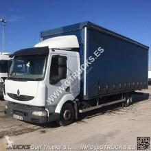 Renault Midlum 220.10 LKW gebrauchter Pritsche und Plane