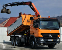 camion Mercedes Actros 2632 Dreiseitenkipper 4,30m + Kran 6x4!