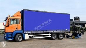 Camion MAN TGS 26.360 rideaux coulissants (plsc) occasion