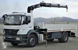 Mercedes Axor 1829 Pritsche 6,20m + Kran*Topzustand truck used flatbed