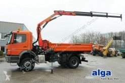 camion Mercedes 1833 AK Axor 4x4, Kran Palfinger PK 10501, Funk