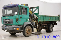 MAN two-way side tipper truck 19.364