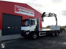 Renault Gamme C 460.26 DTI 11 truck used standard flatbed