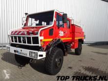 camion Mercedes Unimog 2150 L380, Benz, Doppelkabine, SIDES CCF4000 ltr. feuerwehr - fire brigade - brandweer, Pomp