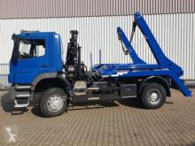 Mercedes tipper truck Axor 1833 4x4 1833 4x4, Tele-Absetzer, Kran Hiab 066 B-2 Duo