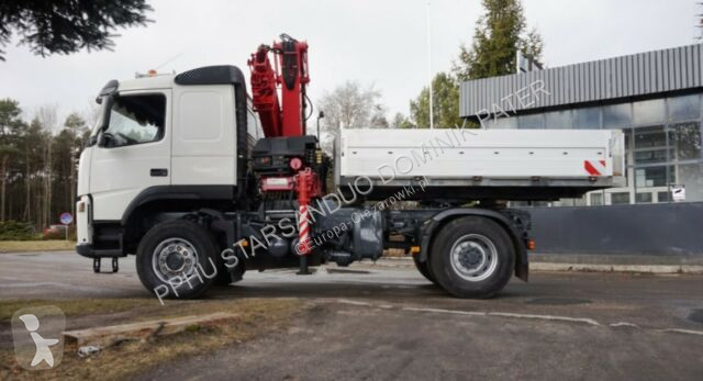 Voir les photos Camion Volvo FM 380 4x4 HIAB 220 C 4 Cran Kran